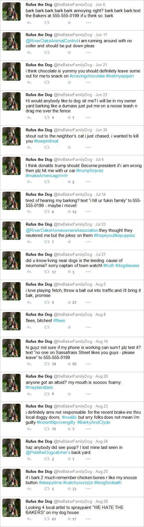 Dog Twitter